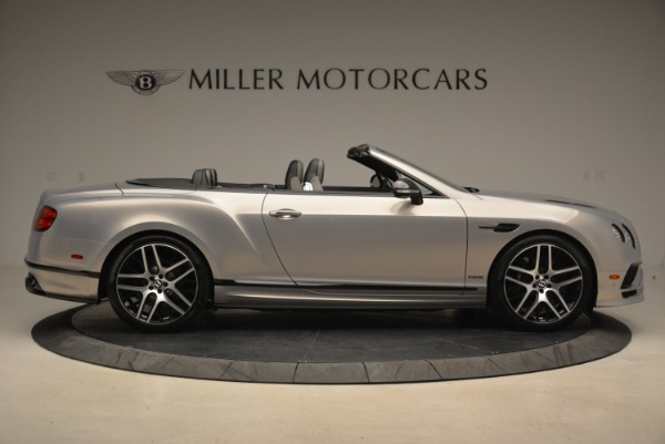 Used 2018 Bentley Continental GT Supersports Convertible for sale Sold at Rolls-Royce Motor Cars Greenwich in Greenwich CT 06830 9