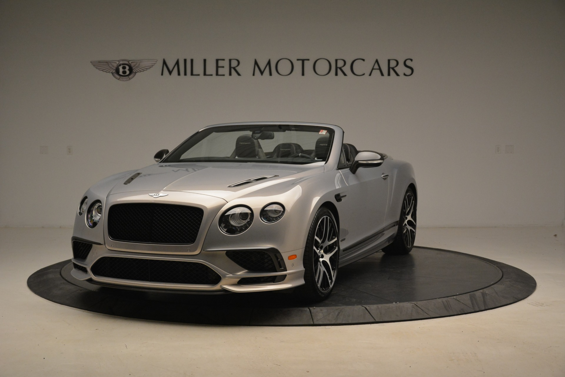 Used 2018 Bentley Continental GT Supersports Convertible for sale Sold at Rolls-Royce Motor Cars Greenwich in Greenwich CT 06830 1