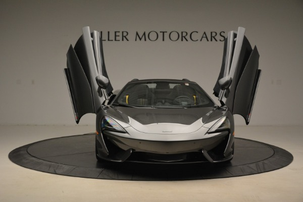 New 2018 McLaren 570S Spider for sale Sold at Rolls-Royce Motor Cars Greenwich in Greenwich CT 06830 13