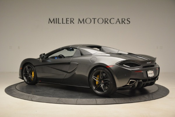 New 2018 McLaren 570S Spider for sale Sold at Rolls-Royce Motor Cars Greenwich in Greenwich CT 06830 17