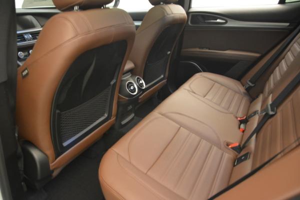 New 2018 Alfa Romeo Stelvio Ti Sport Q4 for sale Sold at Rolls-Royce Motor Cars Greenwich in Greenwich CT 06830 16