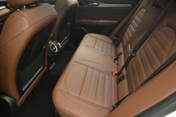 New 2018 Alfa Romeo Stelvio Ti Sport Q4 for sale Sold at Rolls-Royce Motor Cars Greenwich in Greenwich CT 06830 17