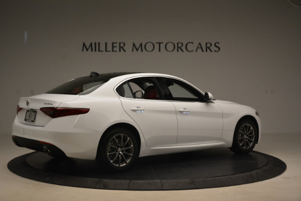 New 2018 Alfa Romeo Giulia Q4 for sale Sold at Rolls-Royce Motor Cars Greenwich in Greenwich CT 06830 8