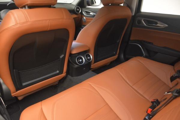 New 2018 Alfa Romeo Giulia Ti Sport Q4 for sale Sold at Rolls-Royce Motor Cars Greenwich in Greenwich CT 06830 16