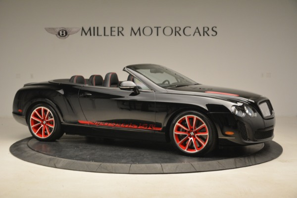 Used 2013 Bentley Continental GT Supersports Convertible ISR for sale Sold at Rolls-Royce Motor Cars Greenwich in Greenwich CT 06830 10
