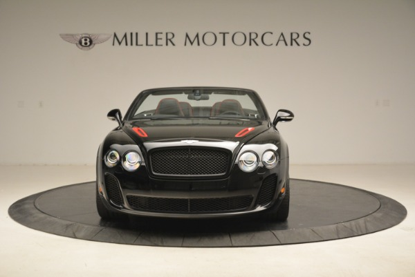 Used 2013 Bentley Continental GT Supersports Convertible ISR for sale Sold at Rolls-Royce Motor Cars Greenwich in Greenwich CT 06830 12