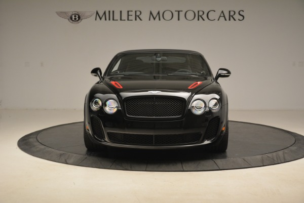 Used 2013 Bentley Continental GT Supersports Convertible ISR for sale Sold at Rolls-Royce Motor Cars Greenwich in Greenwich CT 06830 13