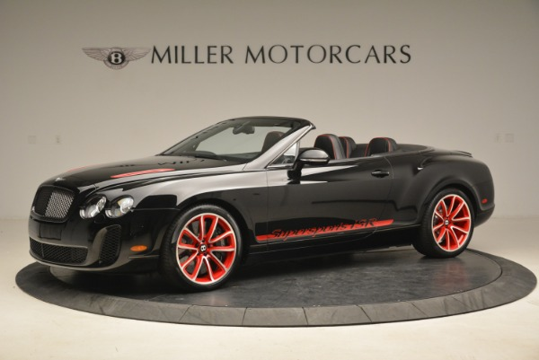 Used 2013 Bentley Continental GT Supersports Convertible ISR for sale Sold at Rolls-Royce Motor Cars Greenwich in Greenwich CT 06830 2