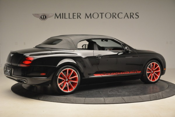 Used 2013 Bentley Continental GT Supersports Convertible ISR for sale Sold at Rolls-Royce Motor Cars Greenwich in Greenwich CT 06830 21