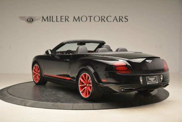Used 2013 Bentley Continental GT Supersports Convertible ISR for sale Sold at Rolls-Royce Motor Cars Greenwich in Greenwich CT 06830 5