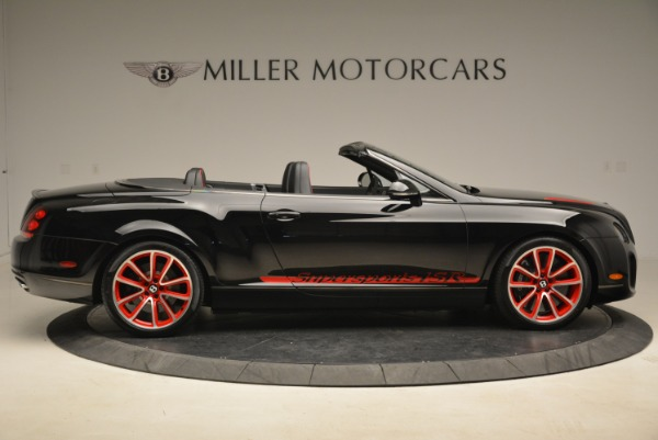 Used 2013 Bentley Continental GT Supersports Convertible ISR for sale Sold at Rolls-Royce Motor Cars Greenwich in Greenwich CT 06830 9