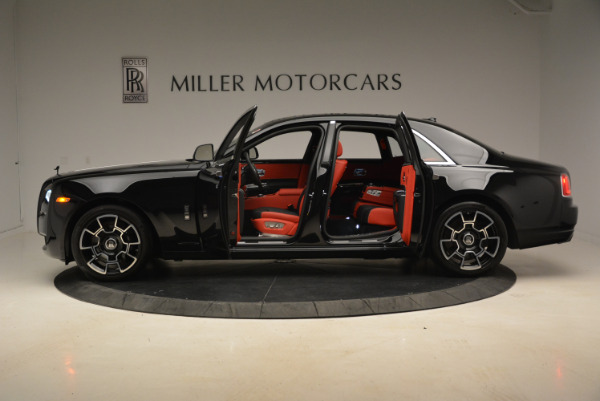 Used 2017 Rolls-Royce Ghost Black Badge for sale Sold at Rolls-Royce Motor Cars Greenwich in Greenwich CT 06830 3