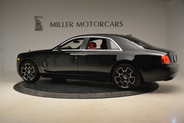 Used 2017 Rolls-Royce Ghost Black Badge for sale Sold at Rolls-Royce Motor Cars Greenwich in Greenwich CT 06830 4