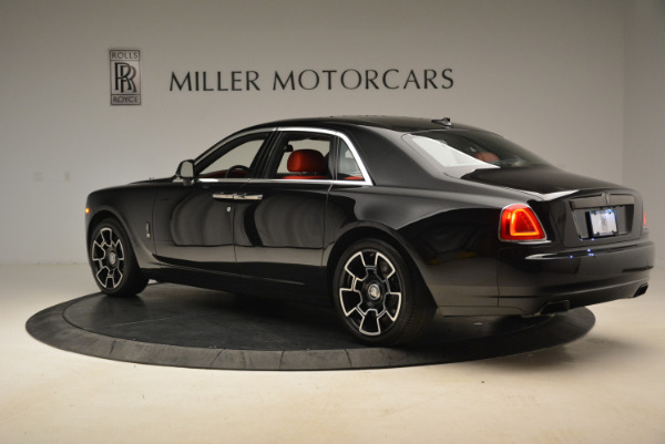 Used 2017 Rolls-Royce Ghost Black Badge for sale Sold at Rolls-Royce Motor Cars Greenwich in Greenwich CT 06830 5