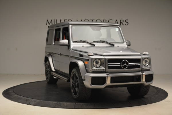 Used 2017 Mercedes-Benz G-Class AMG G 63 for sale Sold at Rolls-Royce Motor Cars Greenwich in Greenwich CT 06830 11