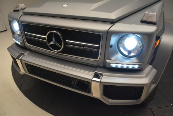Used 2017 Mercedes-Benz G-Class AMG G 63 for sale Sold at Rolls-Royce Motor Cars Greenwich in Greenwich CT 06830 16