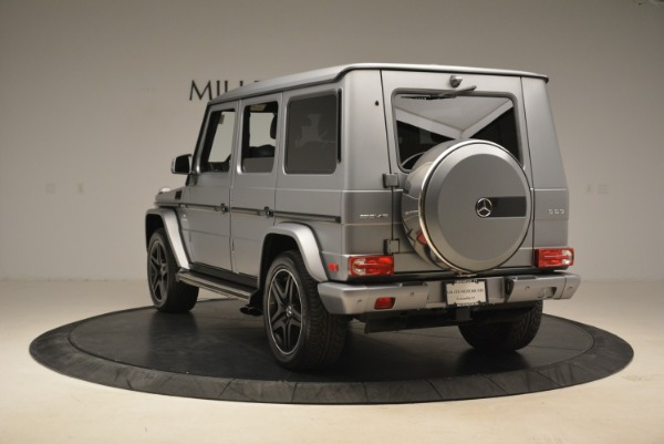 Used 2017 Mercedes-Benz G-Class AMG G 63 for sale Sold at Rolls-Royce Motor Cars Greenwich in Greenwich CT 06830 5