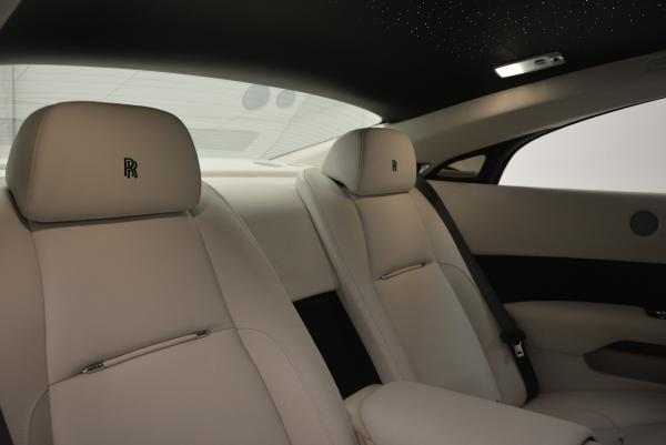 New 2016 Rolls-Royce Wraith for sale Sold at Rolls-Royce Motor Cars Greenwich in Greenwich CT 06830 19