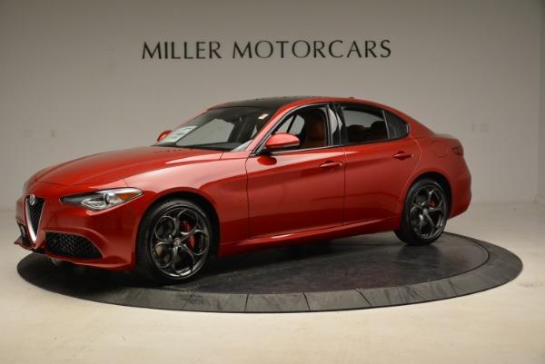 New 2018 Alfa Romeo Giulia Ti Sport Q4 for sale Sold at Rolls-Royce Motor Cars Greenwich in Greenwich CT 06830 2