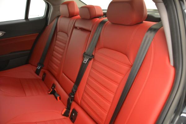 New 2018 Alfa Romeo Giulia Ti Sport Q4 for sale Sold at Rolls-Royce Motor Cars Greenwich in Greenwich CT 06830 18