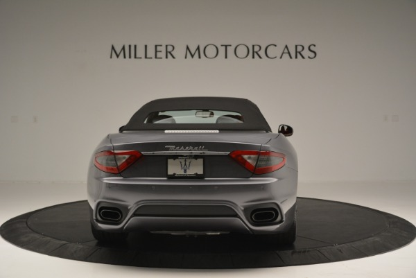 New 2018 Maserati GranTurismo Sport Convertible for sale Sold at Rolls-Royce Motor Cars Greenwich in Greenwich CT 06830 18