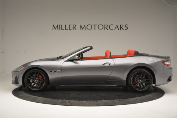 New 2018 Maserati GranTurismo Sport Convertible for sale Sold at Rolls-Royce Motor Cars Greenwich in Greenwich CT 06830 3