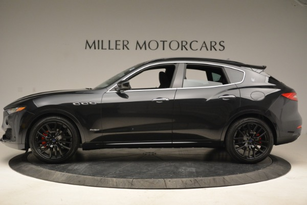 New 2018 Maserati Levante S Q4 GranSport for sale Sold at Rolls-Royce Motor Cars Greenwich in Greenwich CT 06830 3
