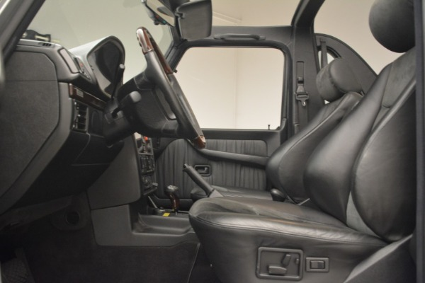 Used 2000 Mercedes-Benz G500 RENNTech for sale Sold at Rolls-Royce Motor Cars Greenwich in Greenwich CT 06830 14
