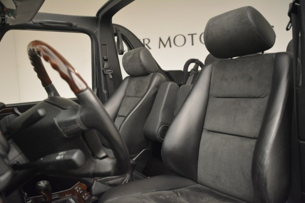 Used 2000 Mercedes-Benz G500 RENNTech for sale Sold at Rolls-Royce Motor Cars Greenwich in Greenwich CT 06830 15