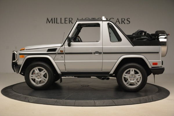 Used 2000 Mercedes-Benz G500 RENNTech for sale Sold at Rolls-Royce Motor Cars Greenwich in Greenwich CT 06830 3