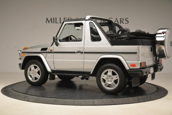 Used 2000 Mercedes-Benz G500 RENNTech for sale Sold at Rolls-Royce Motor Cars Greenwich in Greenwich CT 06830 4