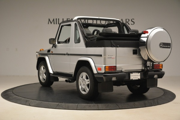 Used 2000 Mercedes-Benz G500 RENNTech for sale Sold at Rolls-Royce Motor Cars Greenwich in Greenwich CT 06830 5