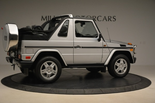 Used 2000 Mercedes-Benz G500 RENNTech for sale Sold at Rolls-Royce Motor Cars Greenwich in Greenwich CT 06830 8