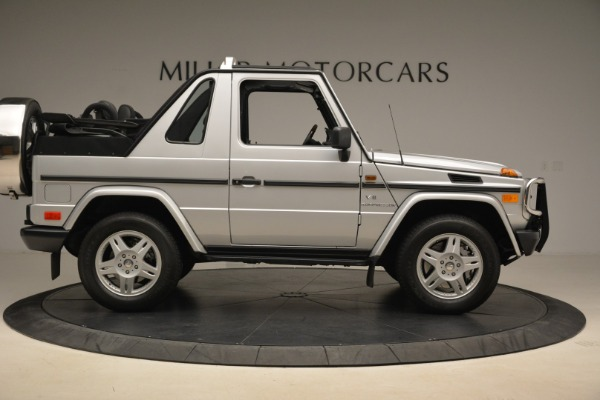 Used 2000 Mercedes-Benz G500 RENNTech for sale Sold at Rolls-Royce Motor Cars Greenwich in Greenwich CT 06830 9