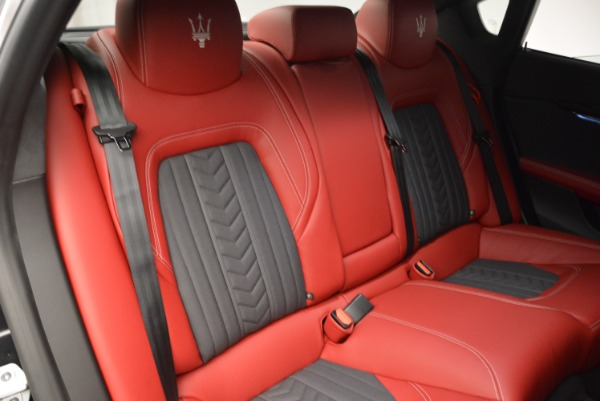 New 2018 Maserati Quattroporte S Q4 GranLusso for sale Sold at Rolls-Royce Motor Cars Greenwich in Greenwich CT 06830 26