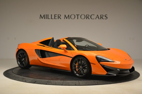 Used 2018 McLaren 570S Spider Convertible for sale Sold at Rolls-Royce Motor Cars Greenwich in Greenwich CT 06830 10