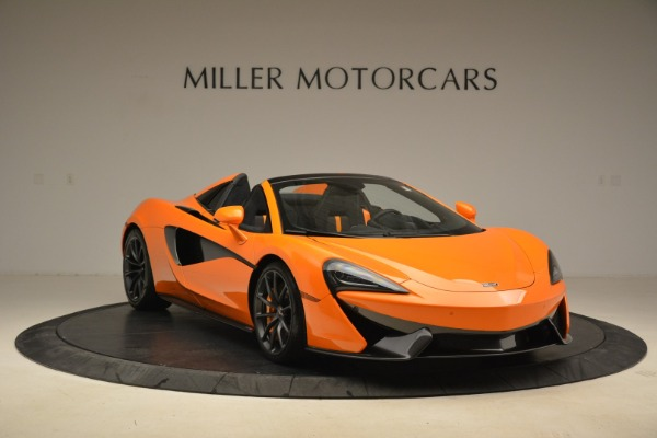 Used 2018 McLaren 570S Spider Convertible for sale Sold at Rolls-Royce Motor Cars Greenwich in Greenwich CT 06830 11
