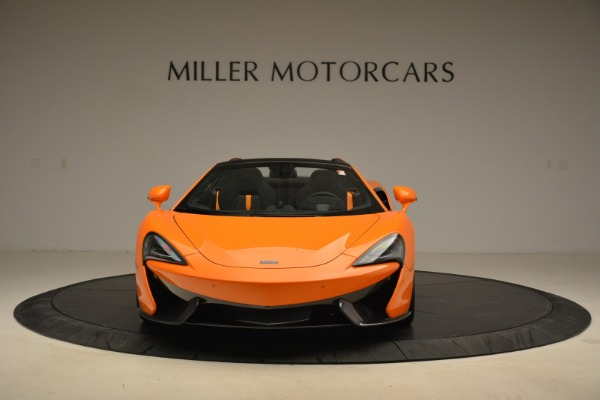 Used 2018 McLaren 570S Spider Convertible for sale Sold at Rolls-Royce Motor Cars Greenwich in Greenwich CT 06830 12