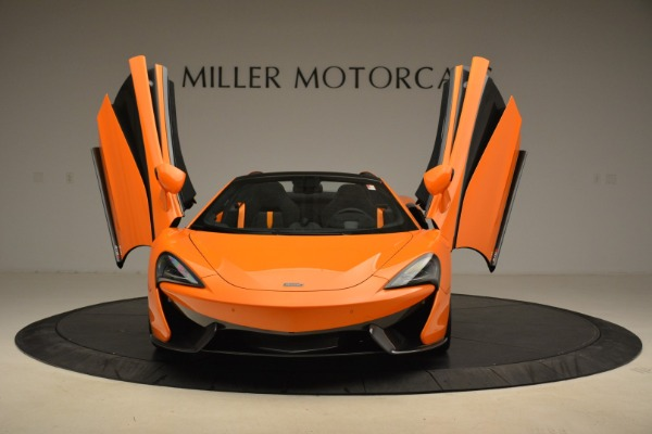 Used 2018 McLaren 570S Spider Convertible for sale Sold at Rolls-Royce Motor Cars Greenwich in Greenwich CT 06830 13