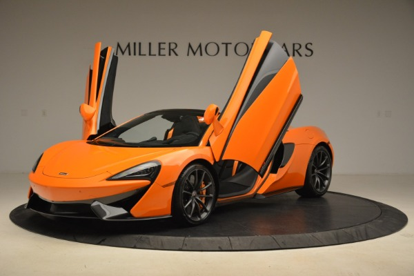 Used 2018 McLaren 570S Spider Convertible for sale Sold at Rolls-Royce Motor Cars Greenwich in Greenwich CT 06830 14