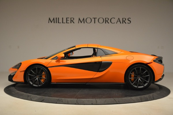 Used 2018 McLaren 570S Spider Convertible for sale Sold at Rolls-Royce Motor Cars Greenwich in Greenwich CT 06830 16