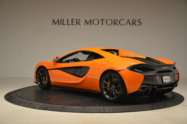 Used 2018 McLaren 570S Spider Convertible for sale Sold at Rolls-Royce Motor Cars Greenwich in Greenwich CT 06830 17