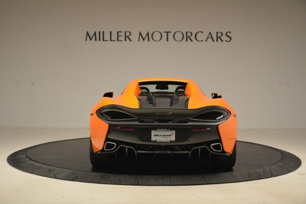 Used 2018 McLaren 570S Spider Convertible for sale Sold at Rolls-Royce Motor Cars Greenwich in Greenwich CT 06830 18