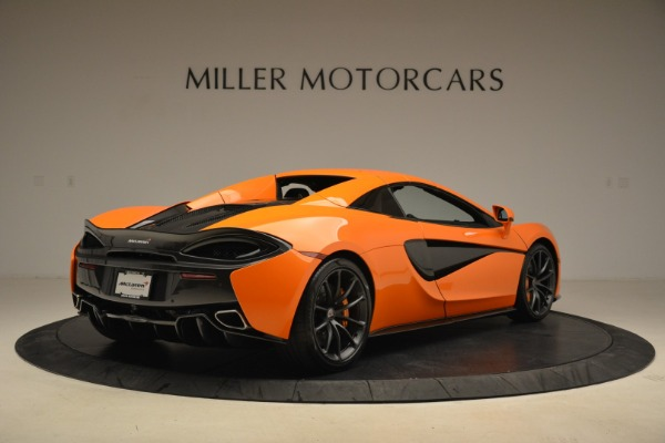 Used 2018 McLaren 570S Spider Convertible for sale Sold at Rolls-Royce Motor Cars Greenwich in Greenwich CT 06830 19