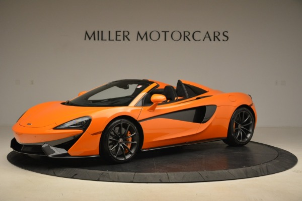 Used 2018 McLaren 570S Spider Convertible for sale Sold at Rolls-Royce Motor Cars Greenwich in Greenwich CT 06830 2