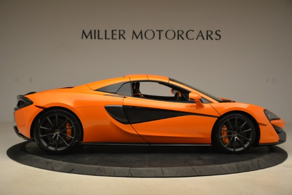 Used 2018 McLaren 570S Spider Convertible for sale Sold at Rolls-Royce Motor Cars Greenwich in Greenwich CT 06830 20