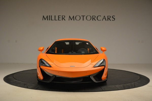 Used 2018 McLaren 570S Spider Convertible for sale Sold at Rolls-Royce Motor Cars Greenwich in Greenwich CT 06830 22