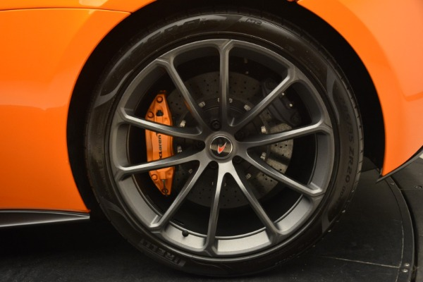 Used 2018 McLaren 570S Spider Convertible for sale Sold at Rolls-Royce Motor Cars Greenwich in Greenwich CT 06830 24
