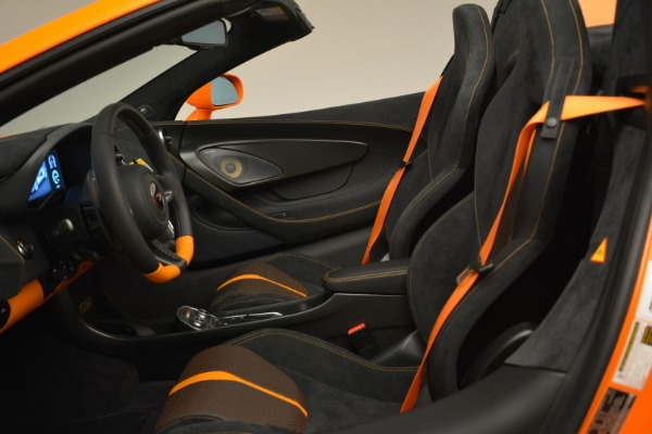 Used 2018 McLaren 570S Spider Convertible for sale Sold at Rolls-Royce Motor Cars Greenwich in Greenwich CT 06830 26
