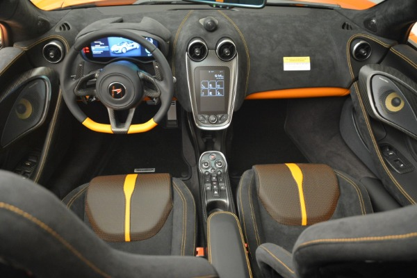 Used 2018 McLaren 570S Spider Convertible for sale Sold at Rolls-Royce Motor Cars Greenwich in Greenwich CT 06830 28